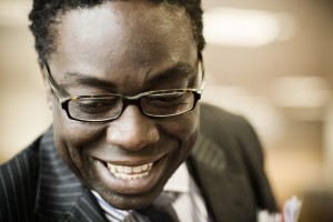 Victor Adebowale close-up